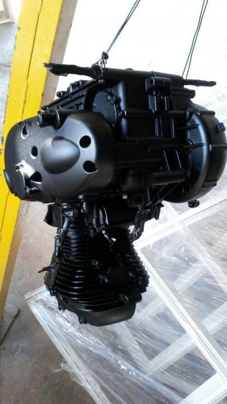 Powder Coated Motorcycle Engine Rainbow Coating