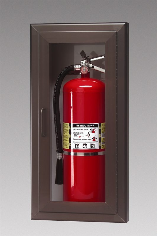 fire extinguisher cabinet and safety rainbow powder coating 15431